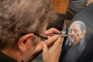 Legendary Airbrush Artist from Menno, Micky Harris