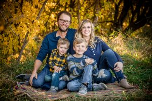 Giant Leap Design - Owner/Creator Adam and family
